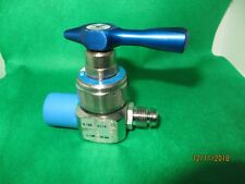 Manual in-line shut-off valve, VCR fittings_Made in the USA