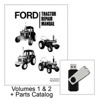 Ford 2610 3610 4110 4610 5610 6610 6710 7610 7710 Tractor Service Repair Manual