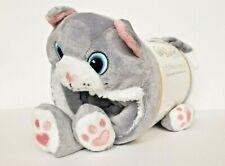 Berkshire Blanket Cozy Throw Animal Buddy Snuggle Set-Cat New