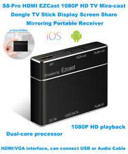 S8-Pro HDMI EZCast USB 1080P HD Miracast Dongle TV Screen Share Media Converter
