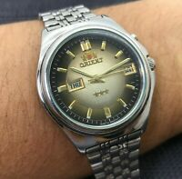 Vintage Watch ORIENT Rare Calendar CRYSTAL 3 AAA Automatic 21 jewels Japan