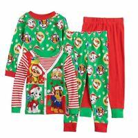Toddler boys girls Paw Patrol Christmas Holiday pajamas Pajama set 2T CHOOSE ONE