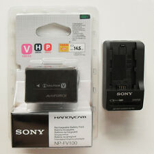NP-FV100 Battery & BC-TRV Charger For Sony HDR-CX/UX/TG DCR-SR/XR/HC/DVD D-SLR