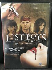 Lost Boys: The Thirst (DVD, 2010, Widescreen, Bilingual)-Horror