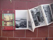 1930 ALBUM A SOFFIETTO DELLA CITTA' DI GENOVA CON 32 FOTOGRAFIE