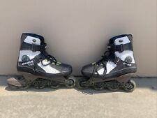 Bauer x-act X-TRA Hockey Roller Blades Skates Men Size 10.5 Wheel Brake Inline