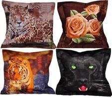 Coussins et galettes de sièges coton imprimé animal sans marque pour la décoration intérieure de la maison
