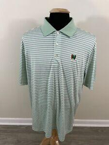 Pine Valley Peter Millar Summer Comfort Men's Golf Polo Shirt Short Sleeve XL
