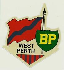 """WEST PERTH & BP"" Decal Sticker PETROL afl vfl WAFL THE CARDINALS FOOTBALL CLUB"