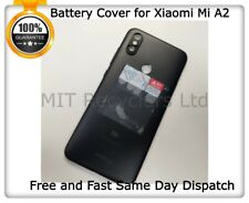 100% Genuine Back Cover Battery Cover Back Case Black For Xiaomi MI A2 M1804D2SG
