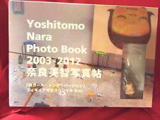 SEALED & RARE! YOSHITOMO NARA 2003 – 2012 PHOTO BOOK w/LITTLE MINI MORI FIGURE