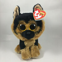 "2020 TY Beanie Boos 6"" SPIRIT German Shepherd Dog Stuffed Animal Toy Plush MWMTs"