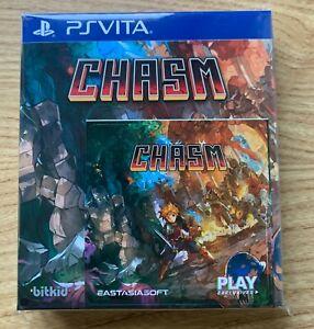 Chasm Playstation VITA Limited Edition New Sealed PSVITA