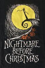 Vintage DISNEY The Nightmare Before Christmas Jack Skellington T-shirt XL