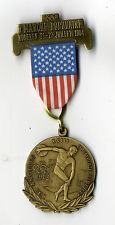 Olympic Games 1984 Los Angeles medallie MEDAL 7. marche populaire Roderen