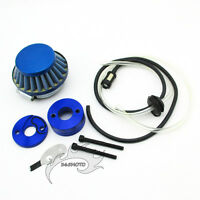 44mm Air Filter Adapter Vstack Stack Fuel Hose For 23 33 43cc Goped Gas Scooter