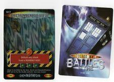 DR WHO Super rare trading card 192/250 Devastator ELECTROMAGNETIC PULSE 1017