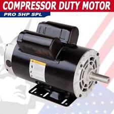 5hp Spl 3450 Rpm Air Compressor Duty Electric Motor 208 230v 162 Fla 35 Hp