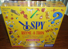 I Spy Rhyme-a-thon Game - Brand New