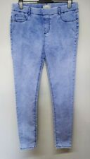 Ladies SIZE 16 blue skinny stretch jegging jeans by Dorothy Perkins in vgc A246