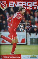 Programm 2011/12 FC Energie Cottbus - Braunschweig