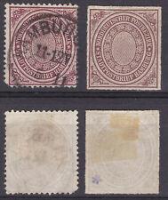 Allemagne Deutschland Bureau du Nord 2 val 1868-69