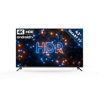 KAGIS 43 Zoll 4K UHD Smart-TV - Smarter Monitor - Android 9 - HDR & Dolby Vision