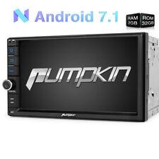 "7"" Pumpkin 1024*600 Android 7.1 Double 2 Din DAB Radio GPS Navi 32GB 2GB 3G OBD2"
