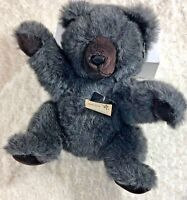 "24K 24 Karat Plush Gray Bear Special Effects 15"" Tall 1988 Stuffed Toy Animal"