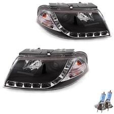 Set Scheinwerfer VW Passat B5 3BG Bj. 00-05 klar/schwarz LED Tagfahrlicht OCT