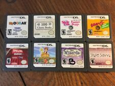 Lot of 8 DS Games (Nintendo DS) - Tested and Guaranteed