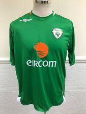 Umbro Ireland Home 2006-2008 Green Football Shirt Jersey Irish Eire Size L