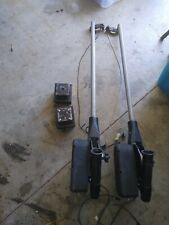 2 Cannon Magnum 10A Electric Downrigger and Swivel Bases 48 Inch Arms
