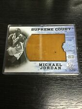2010 SP Authentic SUPREME COURT AUTHENTICS Game Use FLOOR Michael Jordan LAKERS