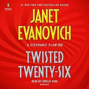 Janet Evanovich TWISTED TWENTY-SIX Stephanie Plum Unabridged CD NEW* FAST Ship