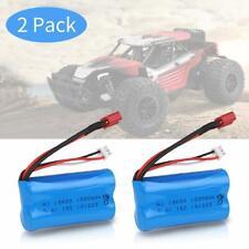 2 Stück 2S Lipo Battery 7,4V 15C 1500mAh Akku für WLtoys 4WD Rc Cars 12403 12401