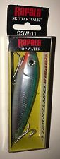 Rapala Saltwater Skitter Walker 11 Green Mullet Fishing Lure SSW11-GRMU New