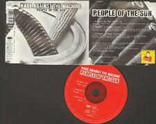 RAGE AGAINST THE MACHINE 3 track CD SINGLE LIVE People Of The Sun Zapata's Blood