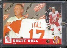 Brett Hull 2001 Nokia - Stadiun Report Russian Hockey Card #239