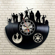 Star Wars Wall Clock Modern Design Clocks Vintage Vinyl CD Wall Watch Home Decor
