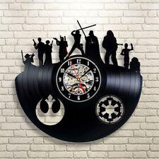 Star Wars Wall Clock Modern Design Vintage Vinyl Clocks Wall Watch Home Decor