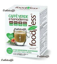 FoodNess 50 Capsule CAFFE' VERDE e GANODERMA Compatibili Dolce Gusto no Glutine