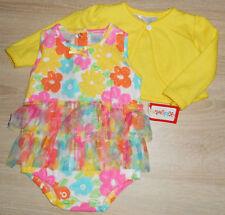 Baby Mädchen 💕 Sommer Kleid 💕 Set 2tlg 💕 passende Strickjacke 💕 Bodykleid 💕
