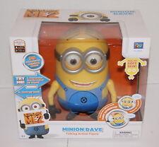 Despicable Me 2 Minion Dave RIENDO 20.3cm Figura de acción 20011 NUEVO EN CAJA