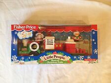 Fisher Price Little People Musical Christmas Train NEW Santa Mrs. Claus Reindeer