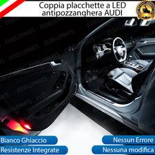 SET PLAFONIERE COMPLETE A LED AUDI A4 LUCI DI CORTESIA PORTIERE PORTE 6000K
