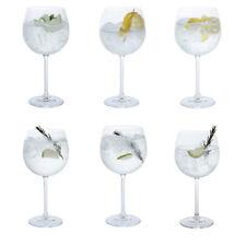 Dartington cristal - Fête ENSEMBLE DE SIX Gin COPA verres en boîte