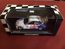 Minichamps 1:43 scale Metal BMW 320i WTCC 2005 #1 - Andy Priaulx