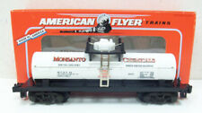 American Flyer 6-48495 S Scale Monsanto Chemicals Single Dome Tank Car MT/Box