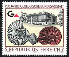 2298 postfrisch Österreich 1999 Geologie Fossil Wissenschaft Gestein Schnecke